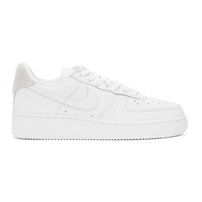 Nike Air Force 1 '07 Craft Sneakers In 101 White/w