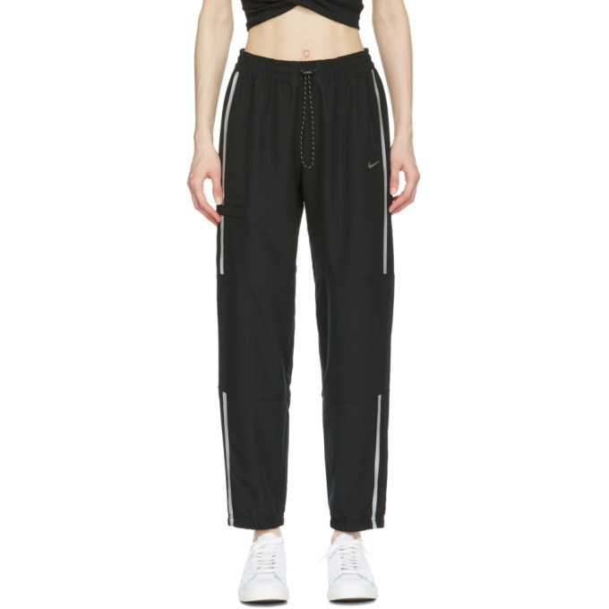 Nike NIKE BLACK FLEX PRO WOVEN LOUNGE PANTS