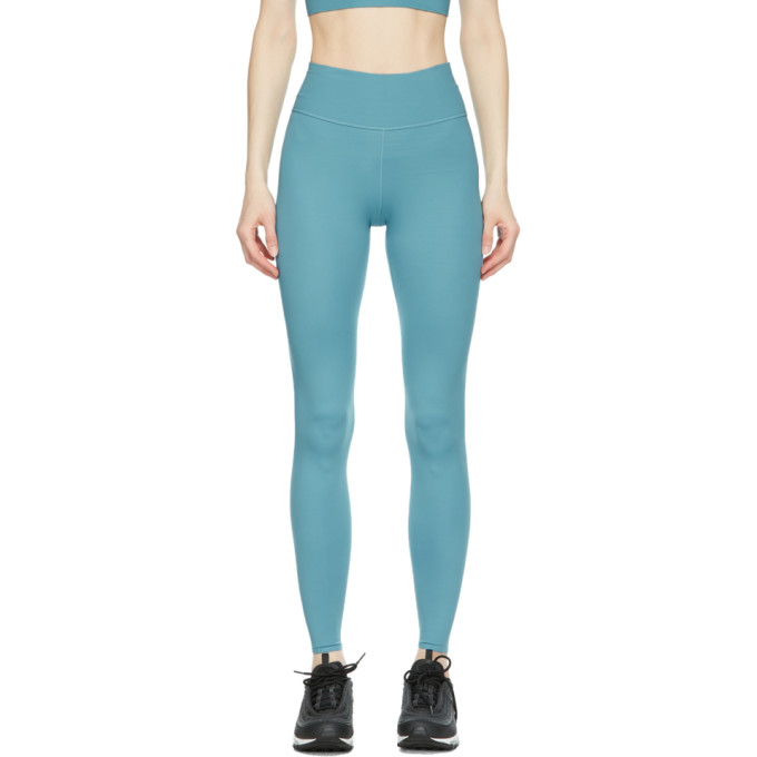 Nike NIKE BLUE ONE LUXE LEGGINGS
