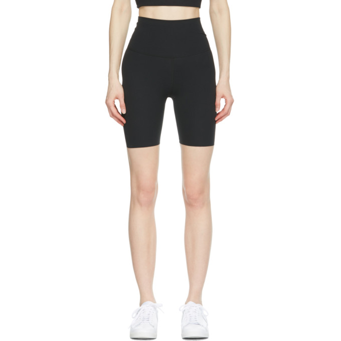 Nike NIKE BLACK INFINALON YOGA LUXE SHORTS