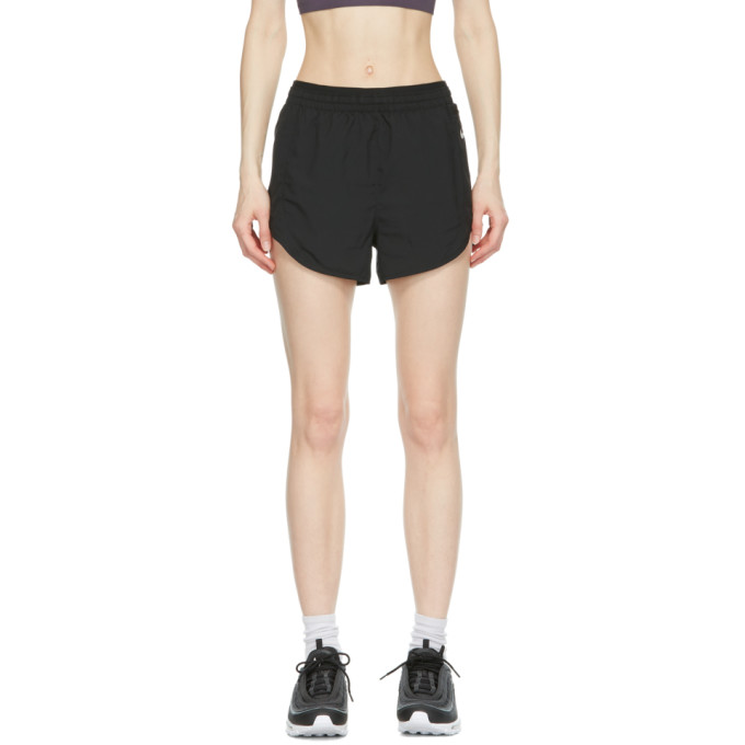 NIKE NIKE BLACK TEMPO LUXE 3-INCH SHORTS