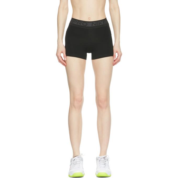 "Nike Pro 3"" Shorts - Black/pure Platinum In 010 Black/p"