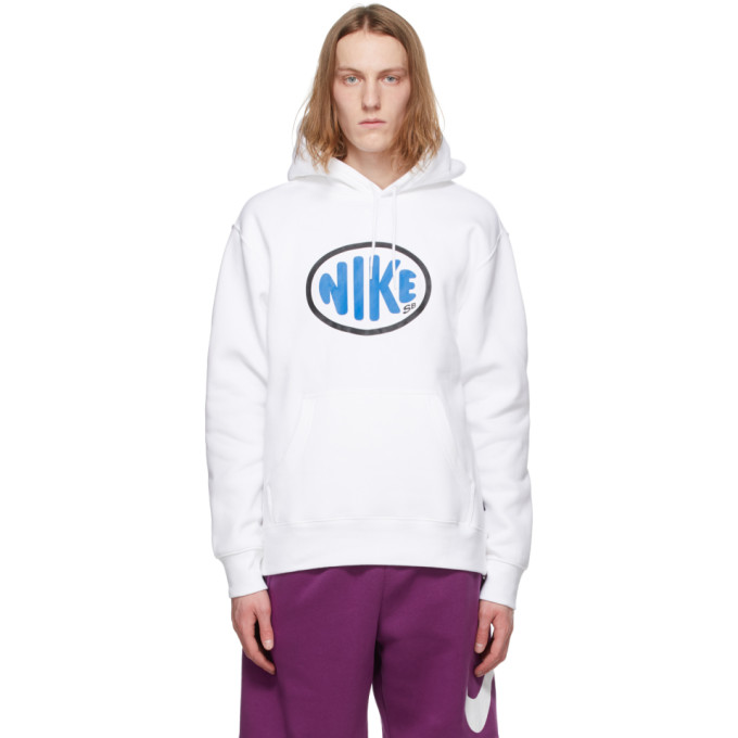 Nike NIKE WHITE SB SKATE HOODIE