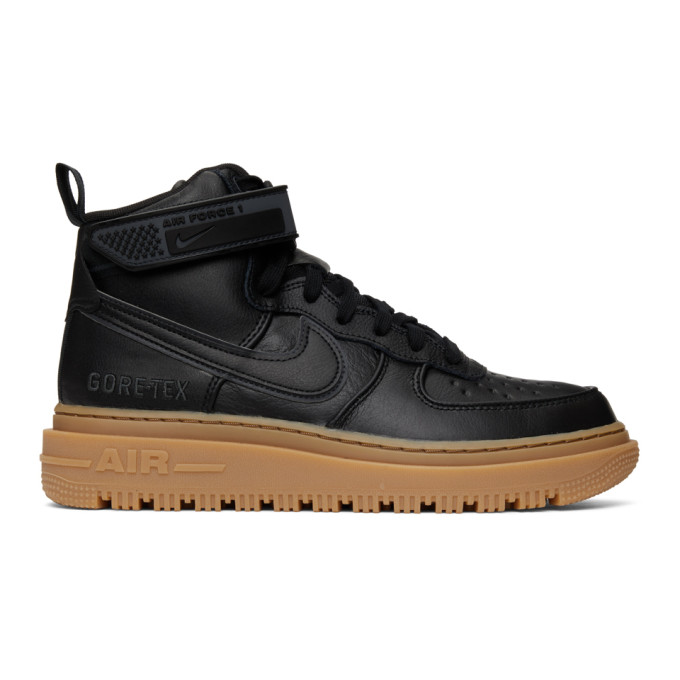 NIKE NIKE BLACK AIR FORCE 1 GTX SNEAKERS
