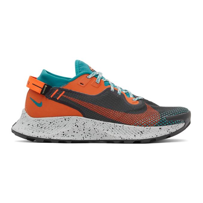 Nike Pegasus Trail 2 Gore-tex Men's Trail Running Shoe In Grey/crimso