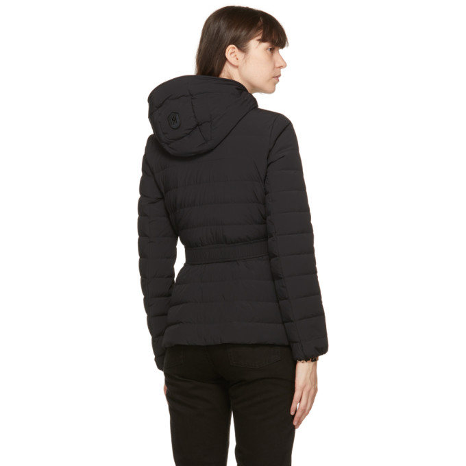 MACKAGE Downs MACKAGE BLACK DOWN ROSELYN LIGHTWEIGHT JACKET