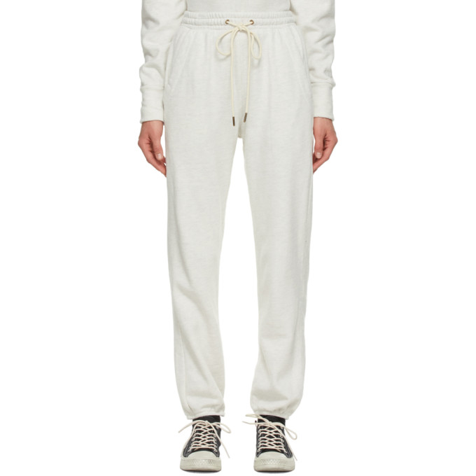 Citizens Of Humanity Clothing CITIZENS OF HUMANITY OFF-WHITE LAILA LOUNGE PANTS