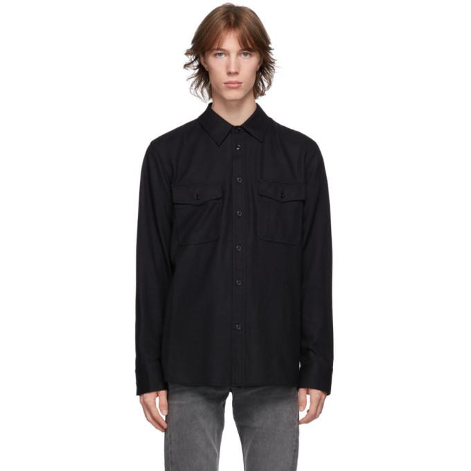 rag and bone rag and bone Black Wool Jack Jacket