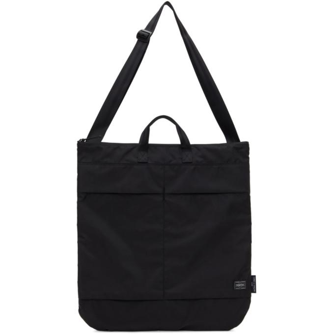 Comme Des Garçons Homme Deux Bags COMME DES GARCONS HOMME BLACK PORTER EDITION NYLON TOTE