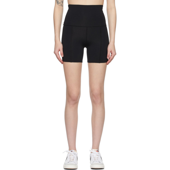 Live The Process LIVE THE PROCESS BLACK GEOMETRIC SHORTS