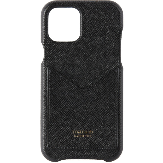 Tom Ford 黑色 iPhone 11 Pro Card Slot 手机壳