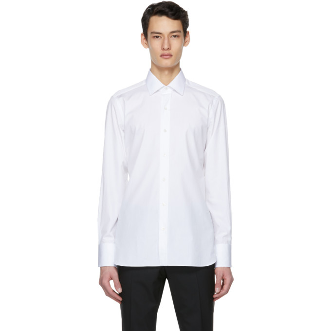 Tom Ford TOM FORD WHITE FINE POPLIN SHIRT