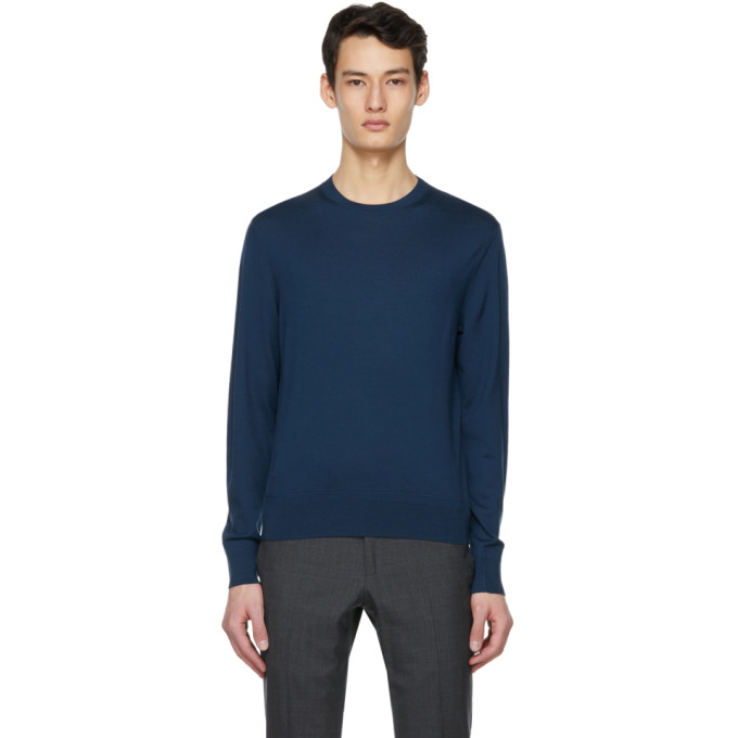Tom Ford TOM FORD BLUE FINE MERINO SWEATER