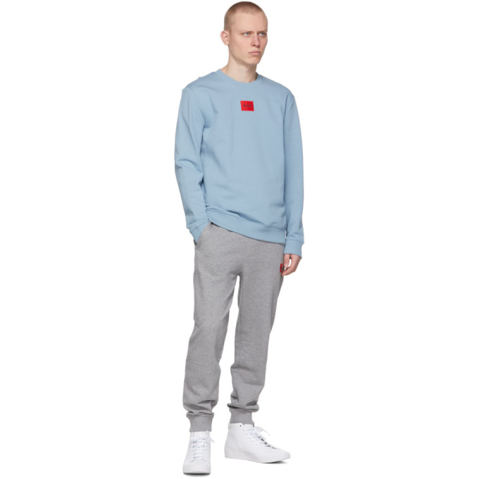 HUGO Sweatshirts HUGO BLUE DIRAGOL212 SWEATSHIRT