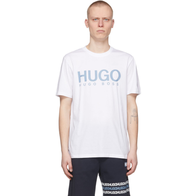 Hugo Cottons HUGO WHITE DOLIVE212 T-SHIRT