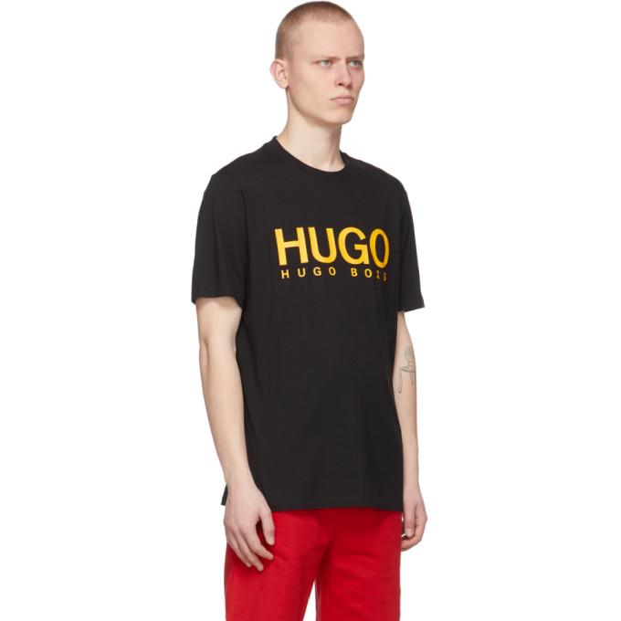 HUGO Cottons HUGO BLACK DOLIVE212 T-SHIRT