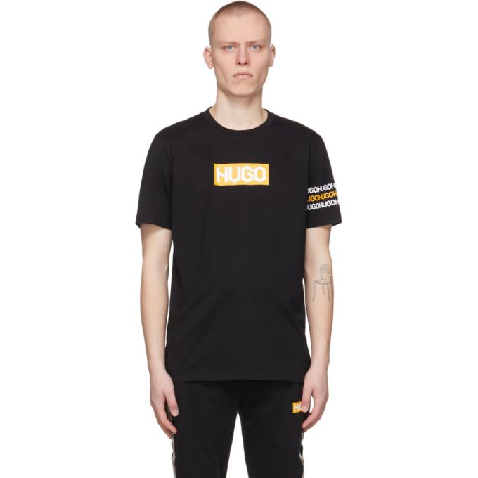 Hugo T-shirts HUGO BLACK DAKE T-SHIRT