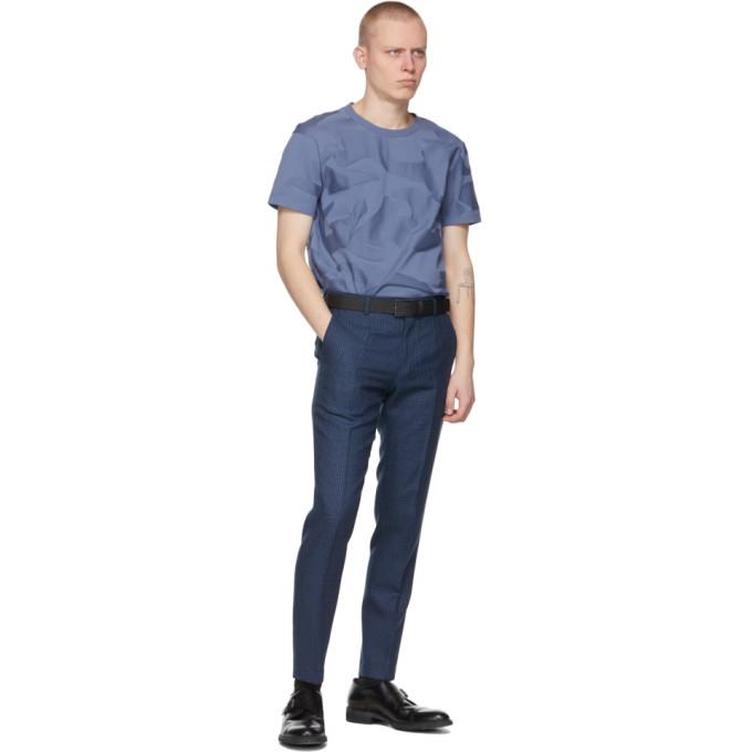 HUGO BOSS T-shirts BOSS BLUE CAMO TIBURT T-SHIRT