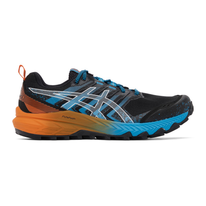 Asics ASICS BLACK AND BLUE GEL-TRABUCO 9 GT-X SNEAKERS