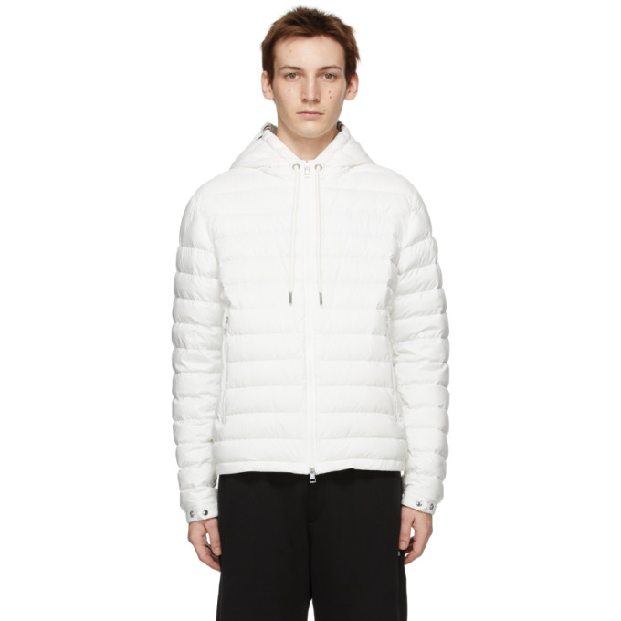Moncler MONCLER WHITE DOWN EUS JACKET