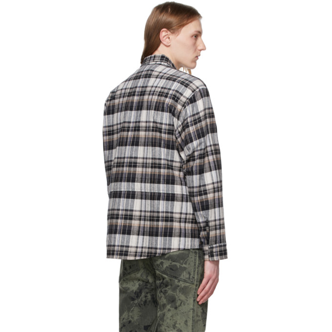 REESE COOPER Cottons REESE COOPER MULTICOLOR FLANNEL SHIRT