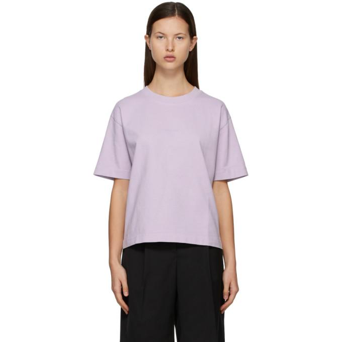 Acne Studios SSENSE 独家发售紫色徽标 T 恤