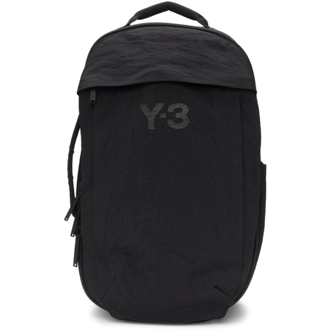 Y-3 Black Classic Backpack  - buy with discount