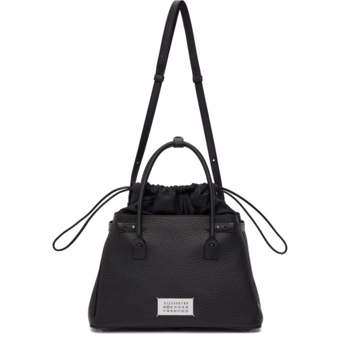 Maison Margiela Black 5ac Top Handle Bag In H7735 Blac