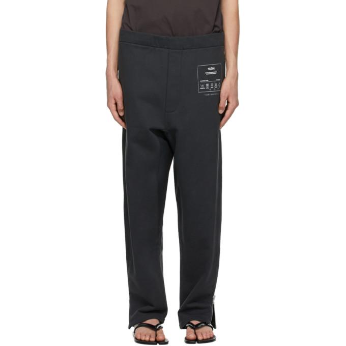Maison Margiela Clothing MAISON MARGIELA BLACK 1CON LOUNGE PANTS