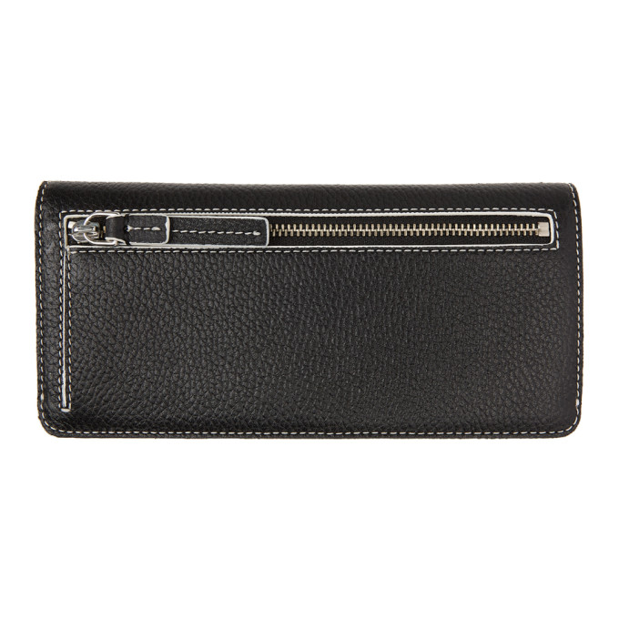 MARC JACOBS Wallets MARC JACOBS WHITE AND BLACK THE COLORBLOCK OPEN FACE WALLET