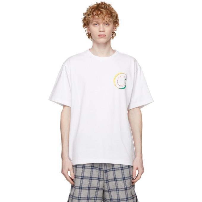 Clot CLOT WHITE GLOBE LOGO T-SHIRT