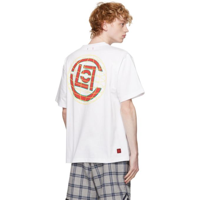 CLOT Cottons CLOT WHITE GLOBE LOGO T-SHIRT