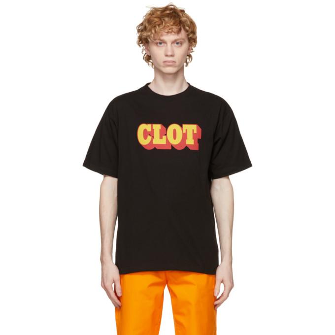 Clot CLOT BLACK LOGO T-SHIRT