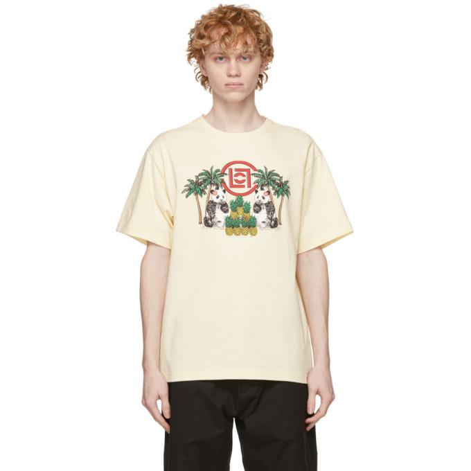 Clot CLOT OFF-WHITE PINEAPPLE PANDA T-SHIRT