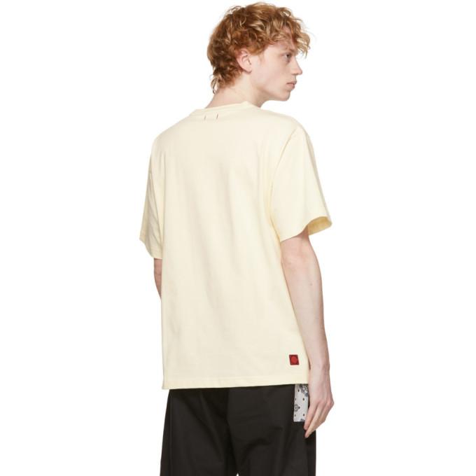 CLOT Cottons CLOT OFF-WHITE PINEAPPLE PANDA T-SHIRT