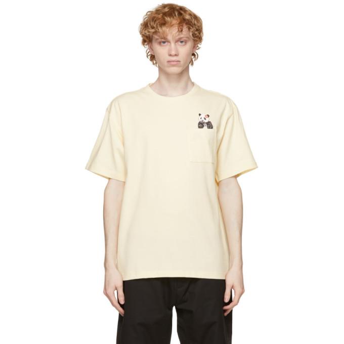 Clot CLOT OFF-WHITE PANDA POCKET T-SHIRT