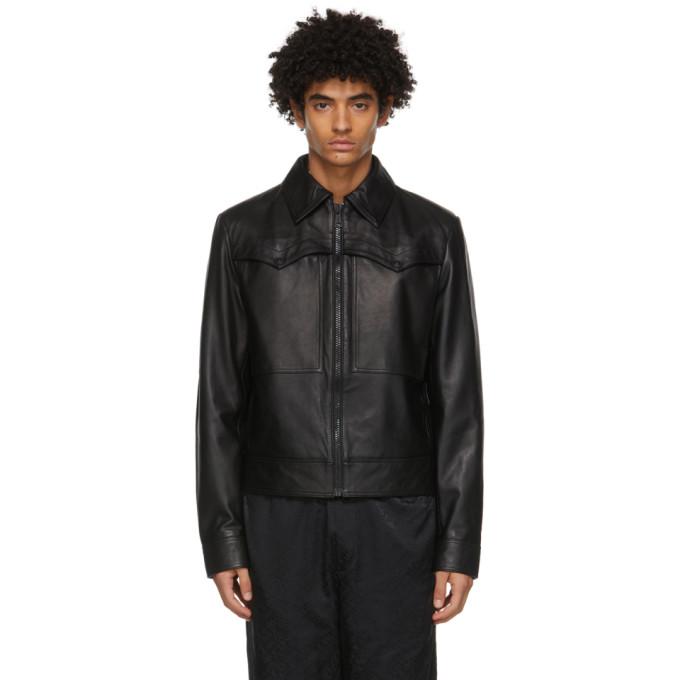 Versace Jeans Couture ブラック Western ジャケット