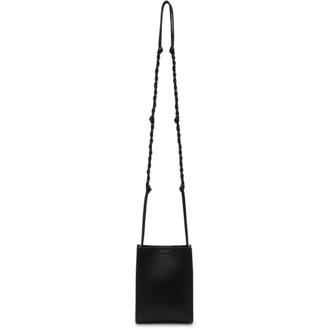 Jil Sander JIL SANDER BLACK SMALL TANGLE TOTE