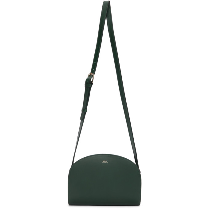 A.p.c. Crossbody bags A.P.C. GREEN DEMI-LUNE BAG