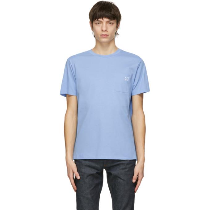 A.p.c. A.P.C. BLUE ANDREW T-SHIRT