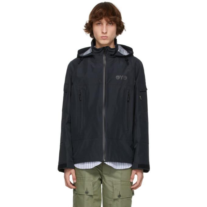 Junya Watanabe Men's Black Polyamide Outerwear Jacket In 1 Black