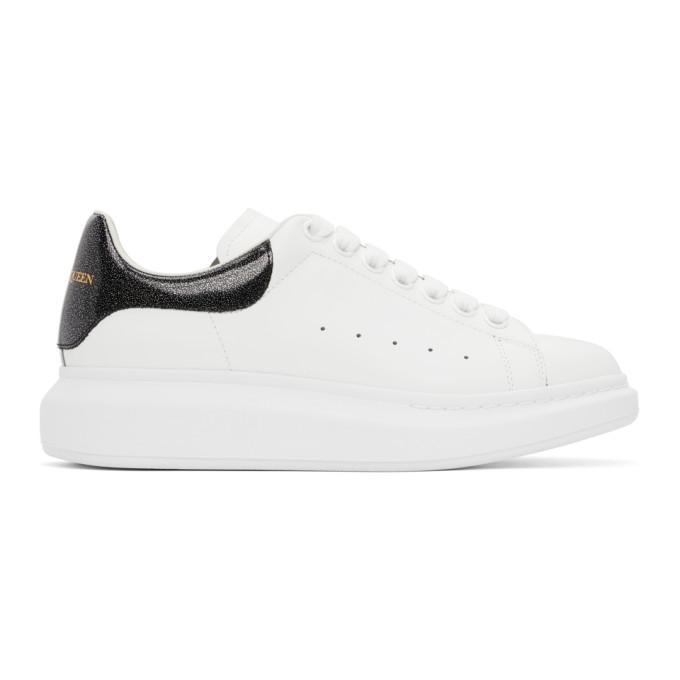 Alexander McQueen SSENSE 独家发售白色晕彩阔型运动鞋