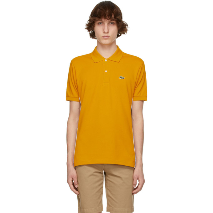 Lacoste Yellow Ricky Regal Edition L.12.12 Polo In 66f