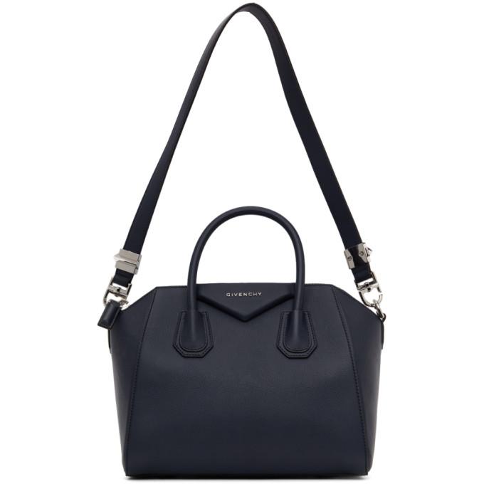 Givenchy Navy Medium Antigona Bag