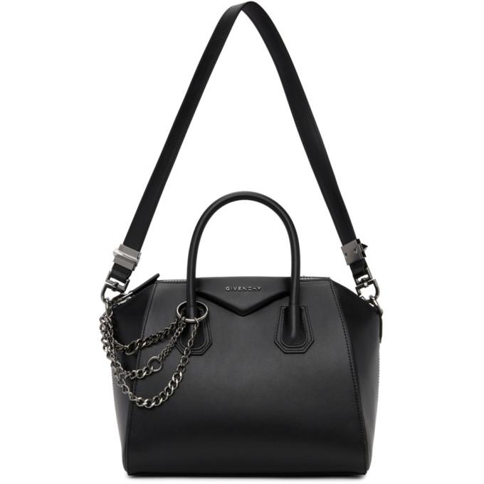 Givenchy Black Small Chains Antigona Bag