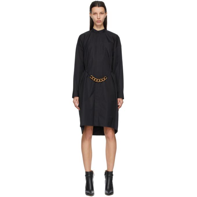 Givenchy Black Chain Shirt Dress
