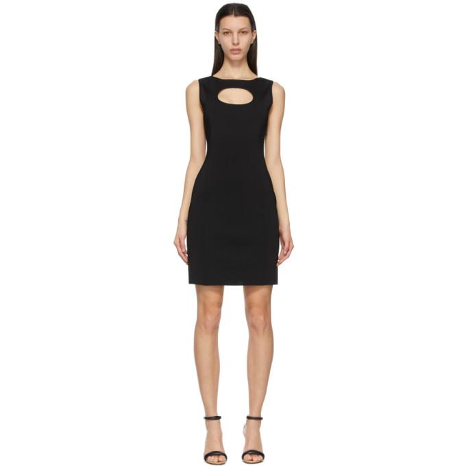 Givenchy Black Viscose Cut-Out Dress