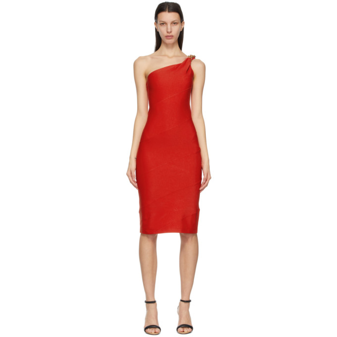 Givenchy Midi dresses GIVENCHY RED SPIRAL CHAIN DRESS