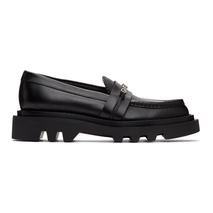 Givenchy Black Elba Loafers