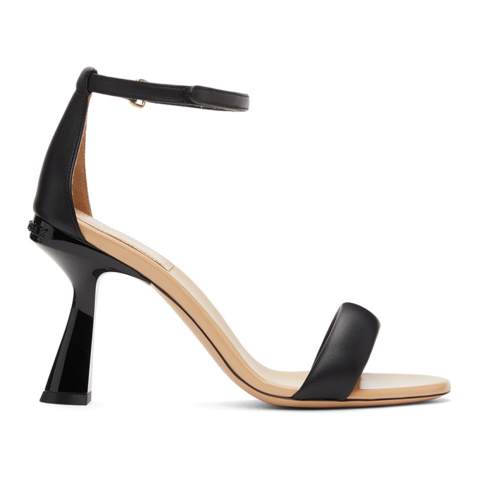 Givenchy Shoes GIVENCHY BLACK CARENE HEELED SANDALS